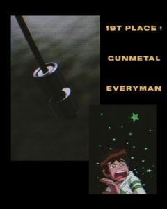 1st place - gunmetal everyman shells