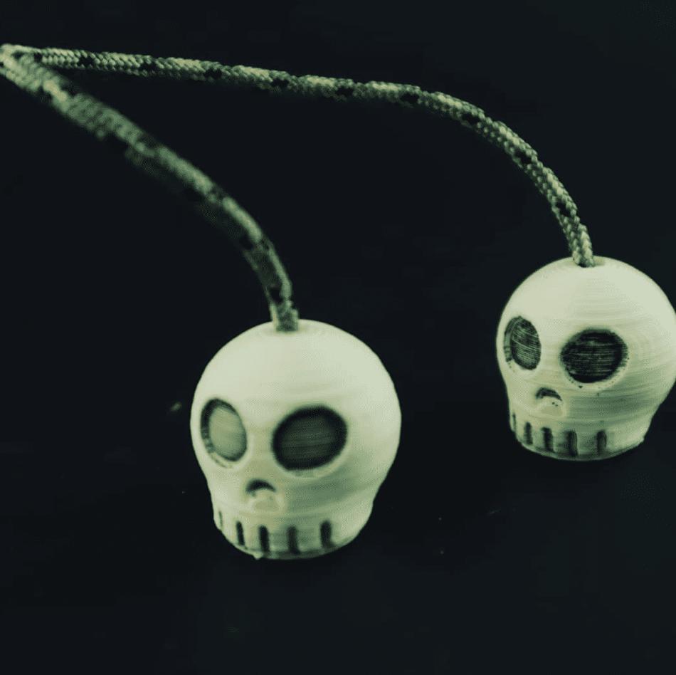 3D Printed Skull Begleri from Dylan Kowalski