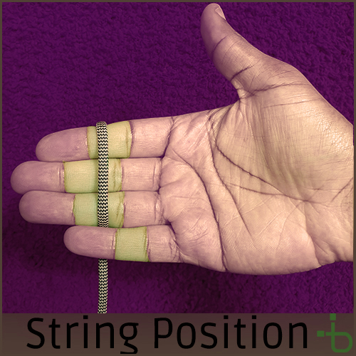 String position